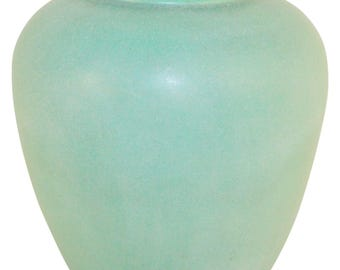 Teco Pottery Matte Green Vase Shape 147