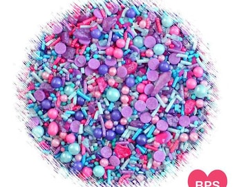 Sprinklefetti Mermaid Sprinkles Mix, Under the Sea Sprinkles, Mermaid Party Sprinkles, Mermaid Sprinkle Mix, Edible Sprinkles