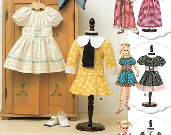 "18"" DOLL Clothes Pattern by Simplicity No. 8575 Uncut"