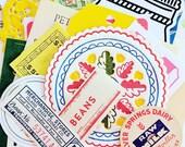 Vintage Kitchen Cooking Ephemera Pack / 35+ Pieces / Vintage Ephemera / Paper Ephemera / Recipes