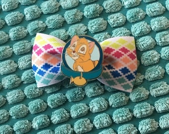 Disney's Oliver and Company hair bow clip