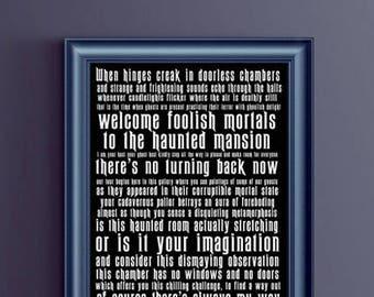 Disney - Haunted Mansion