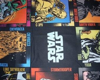 """Star Wars  Immortals (Luke Skywalker, Hans Solo..etc) -  44"""" wide - sold by the yard"""