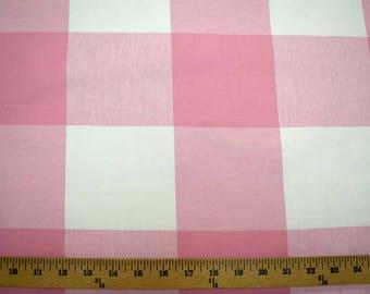 Buffalo Check Strawberry Pkaufmann Fabric