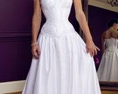 Custom Fabric/ Measurements Meschantes Bridal Contessa Overbust Corset