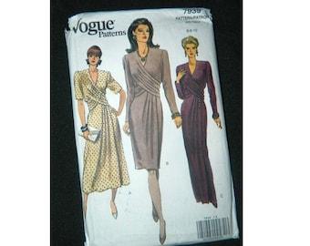 Vogue Dress Pattern 7939- Uncut