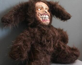 Stuffed Animal Handmade Scary Lamb Stuffed Toy