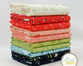 """The Front Porch - Fat Quarter  Bundle - 10 - 18""""x21"""" Cuts - by Sherri and Chelsi - Moda Quilt Fabric (SC.TFP.10FQ)"""
