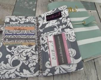 Dollbirdies Original Traveler Notebook Passport Wallet Pouch Insert, Midori Pocket Insert, Fauxdori Pocket Insert, Traveler Notebook Pocket
