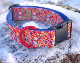 """1.5"""" Dog Collar - Candies"""