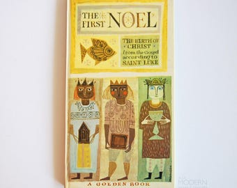 The First Noel The Birth of Christ 1959 Golden Press Picture Book llustrated by Provensen