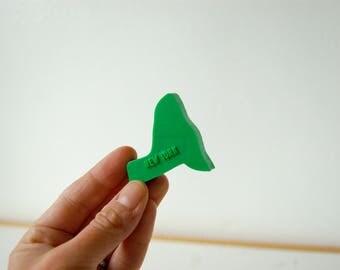 New York Magnet - Vintage State Magnet - State Souvenir - Plastic Magnet - New York State Gift - United States Magnet Gift - Teacher Gift