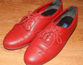 ON SALE Easy Spirit - Anti-Gravity Leather Shoes Oxfords Size 7