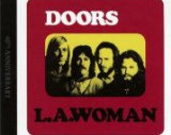 The Doors VG++ vinyl - La Woman - Original with Die Cut Windows - Cover is in VG+ Condition