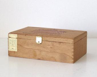 Wooden oud kampen Cigar Box