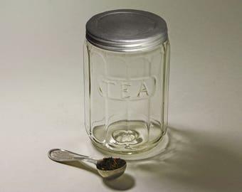 Vintage Hoosier Tea Jar, Hoosier Jar - circa 1920's