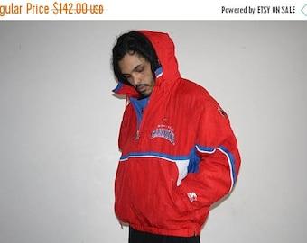 On SALE 35% Off - VTG 1990s Montreal Canadiens NHL Hockey Starter Athletics Winter Parka Jacket Coat - Starter Jackets - 90s Clothing - Mv03