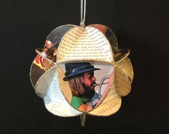 Chuck Mangione Album Cover Ornament Made Of Record Jackets