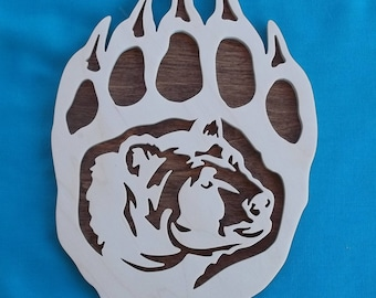 Bear Animal Print Wall Art