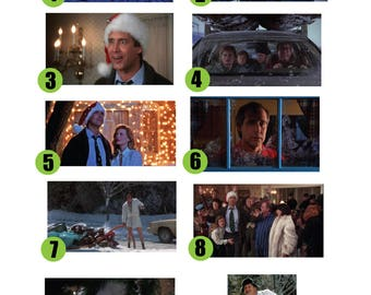 "Christmas Vacation  - 11"" x 17"" prints/posters  : 10 to Choose From"