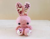 Cute Stuffed Animals, Bunny stuffed animal, Crochet Bunny, Collectible bunny, bunny for a gift