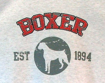Womens TANK TOP Boxer Dog Choose Size and Color 17395