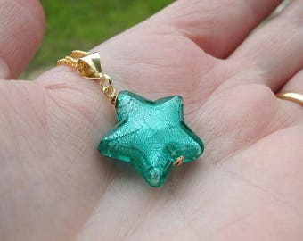 Murano Glass Star Necklaces