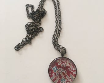 Red Blossom Necklace
