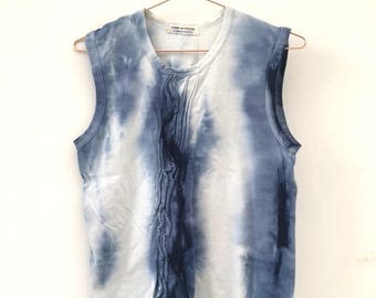 unique item / tye die on a designer item ( JP ) / t-shirt / size M