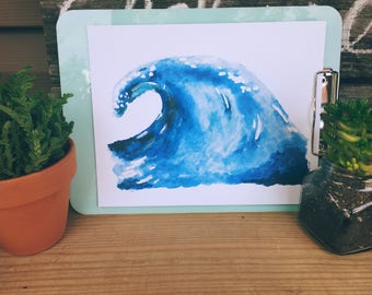 Wave Printable Art Print 8x10