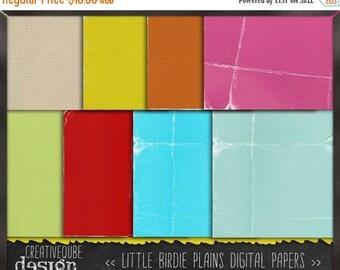 90% OFF Sale Digital paper, Digital Scrapbook paper pack - Instant download - 12 Digital Papers - Little birdie plains