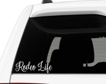 Rodeo Life Inspired Vinyl Decal Sticker