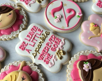 Sparkle Ballerina Sugar Cookie Collection