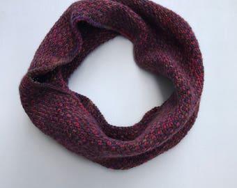RDB: Hand Knit Wool Cowl