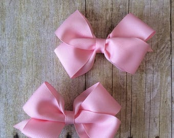 Baby Pink Boutique Bow Set