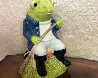 Beswick Sporting Characters Collection  Fly Fishing Royal Dalton Frog