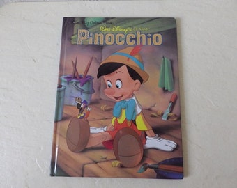 Walt Disney's Classic PINOCCHIO, A Big Golden Book, 1990.
