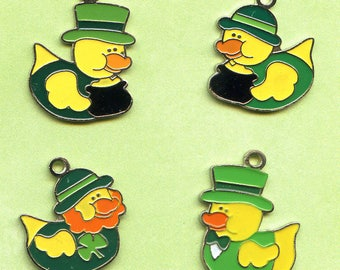 St Patrick's Day  Duck Charms