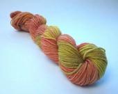 Spicy hand dyed merino/nylon fingering/4ply/sock yarn 20g miniskeins