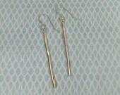 Simple drop earrings Ster...