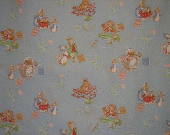 Beatrix Potter characters  Spring Industries ( 27 x 44 inches )