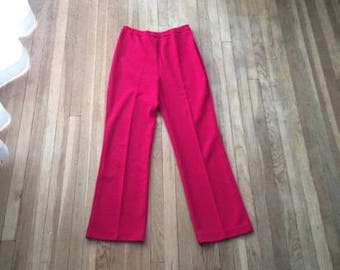 Vintage Bell Bottoms | 70s Womens Bell Bottoms | 1970s Retro Bells | 60s Wide leg Bell Bottom Disco Flare Pants | Small Hippie Clothing