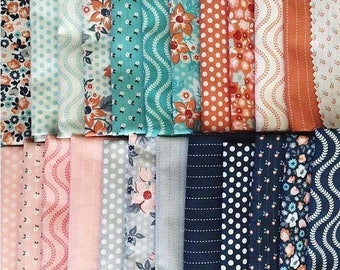 SALE 10% Off - SWEET MARION  - Fat Quarter Bundle - by April Rosenthal for Moda Fabrics - 32 FQs