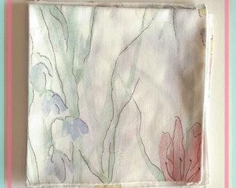 Vintage Vera Floral Linen Dinner Napkins