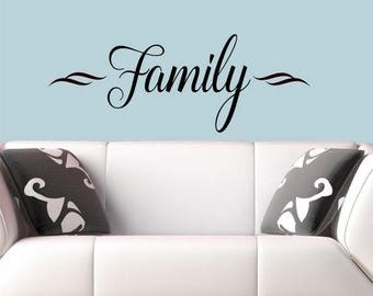 20% OFF Family-  wall decal memories stickers home hallway Vinyl Lettering wall decals words graphics Home decor itswritteninvinyl