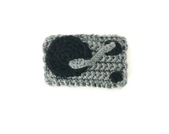 Crocheted Turntable Keychain