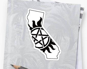 Vinyl Sticker - California Supernatural State