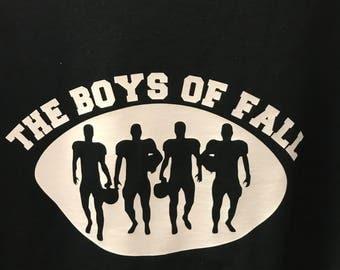 The Boys Of Fall - Football Tee - Short Sleeve - Long Sleeve