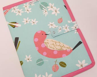 Bi-fold Pattern Holder Landscape Full Page in Stick a Bird on it