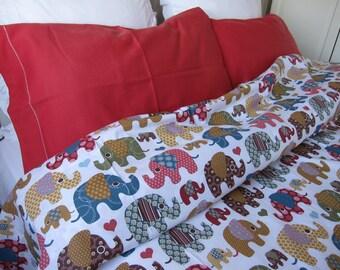 Elephant bedding duvet cover elephants bohemian animal print Twin Queen double Cal King super oversized king duvet cover Nurdanceyiz bedding
